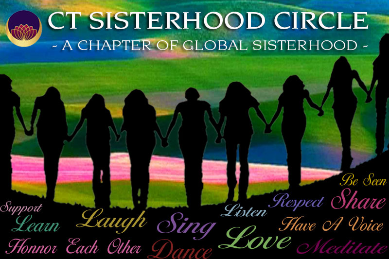 sisterhood circle on each new moon, Connecticut