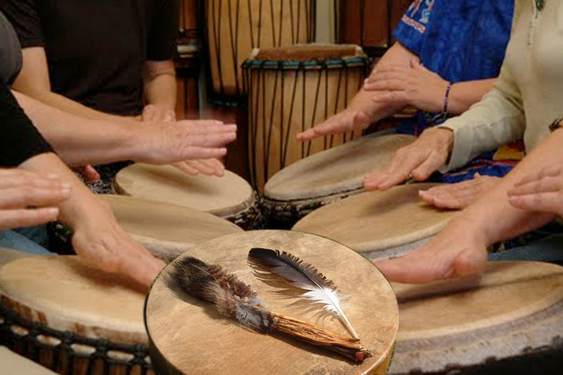 Host a drum circle and guided journey at your center or home.